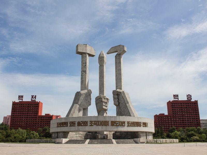 Monument Pyongyang