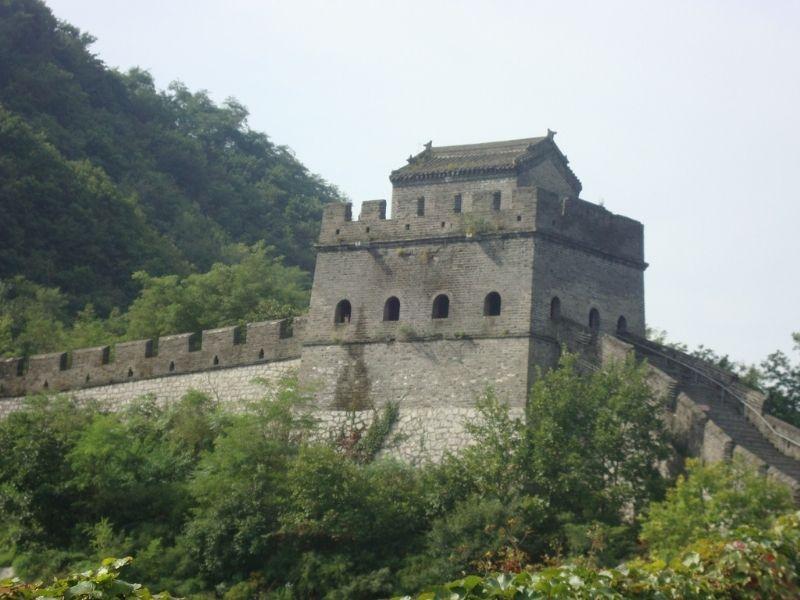North Korea China border, Great Wall