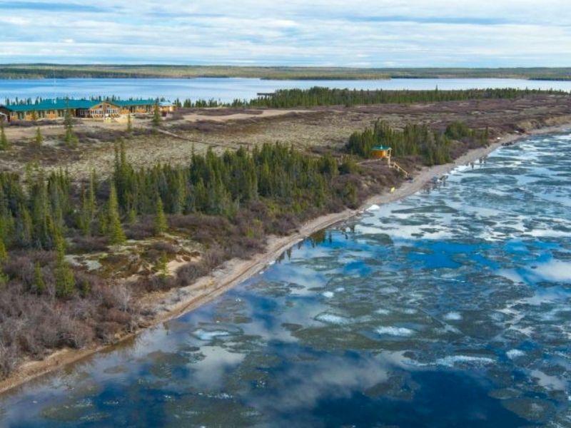 Arctic Haven on Ennadai Lake