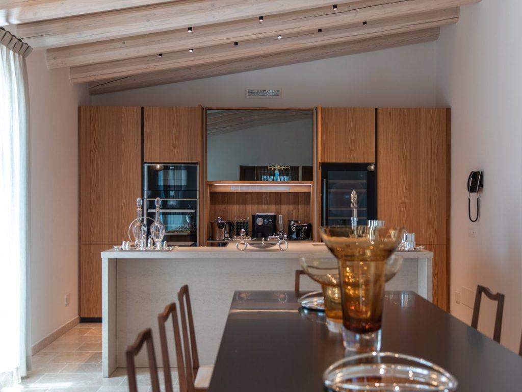 La Piccola kitchen