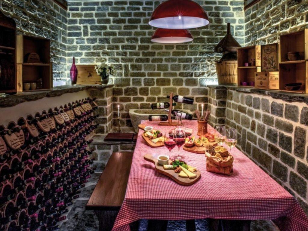 Villa Dei Sogni Dining