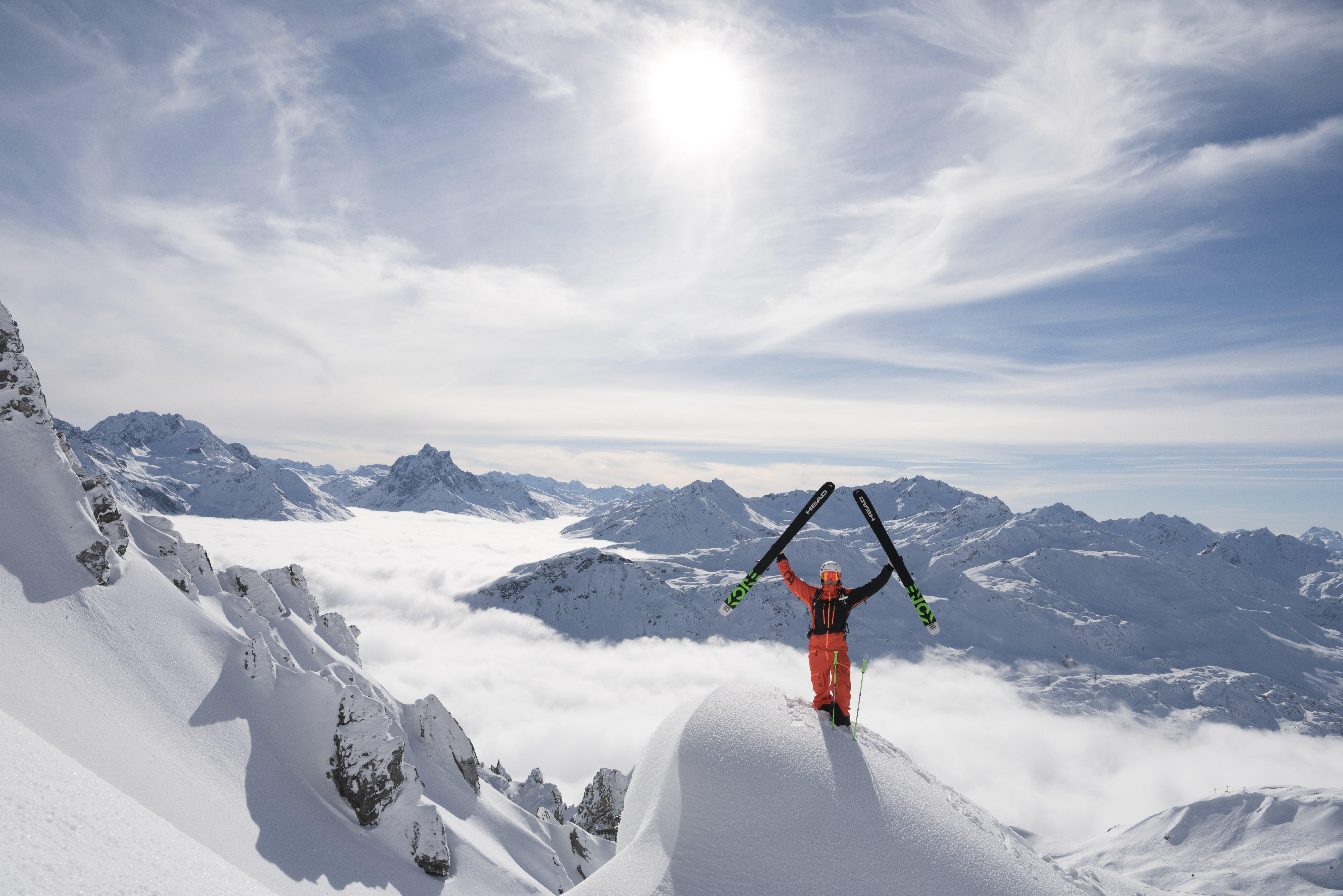 St. Anton am Arlberg is an Austrian village in the Tyrolean Alps.