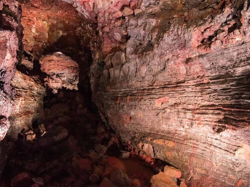 Lava Tunnels Iceland