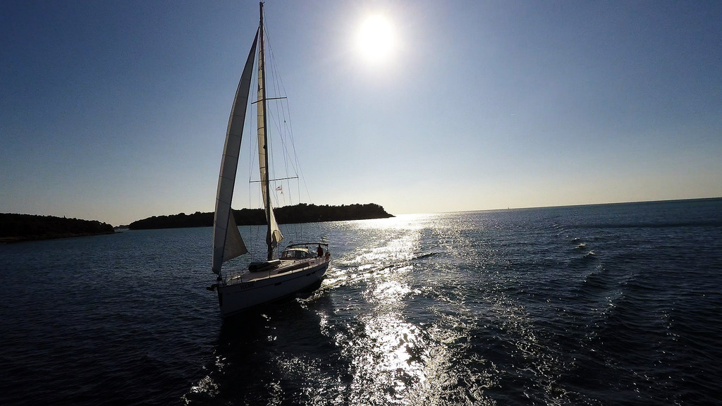 A sailing charter for your family on the Adriatic