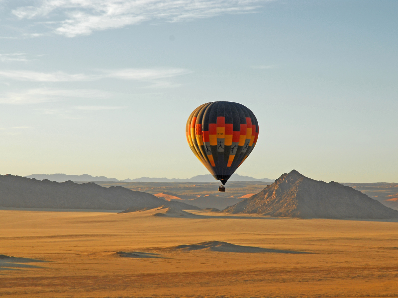 Adventure Hot Air Balloon Sossusvlei Namibia