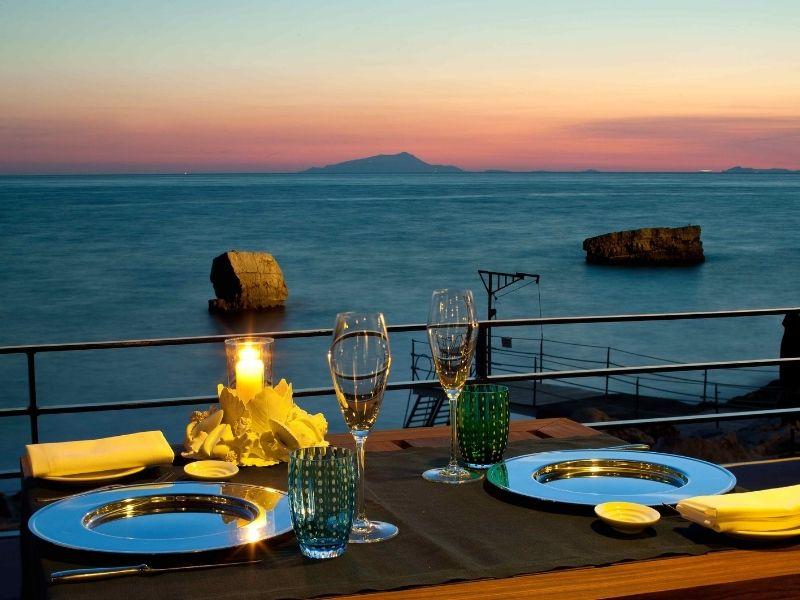 Dinner in Amalfi