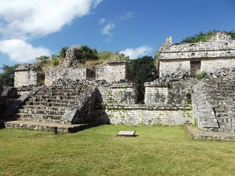 Ek Balam archaelogical site, Yucatán