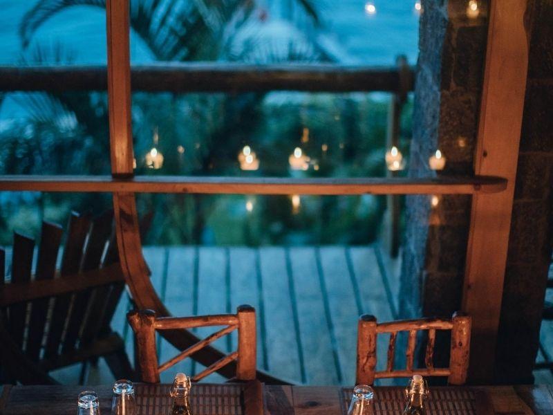 Anguilla romantic dinner