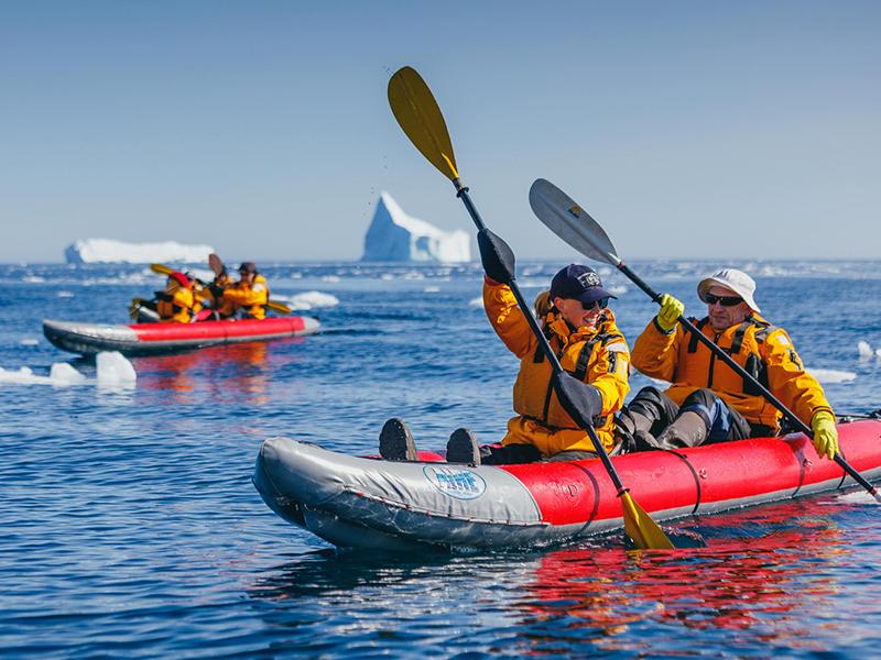 Arctic Kayaking