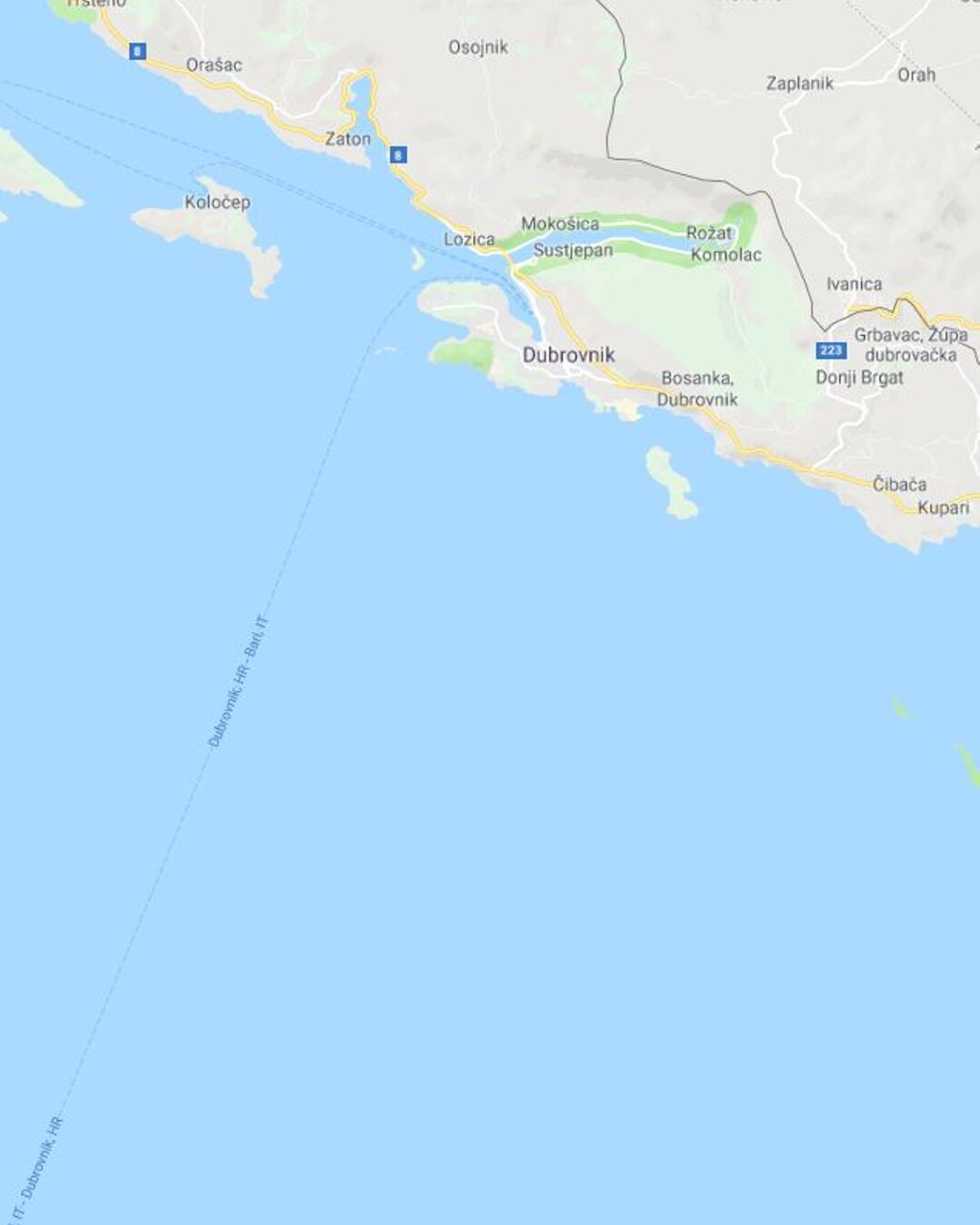 Arrive in Dubrovnik Croatia