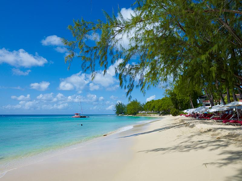 Saint Vincent beach