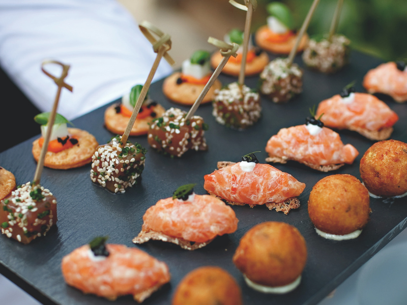 Belmond Eastern Orient Express - Canapes