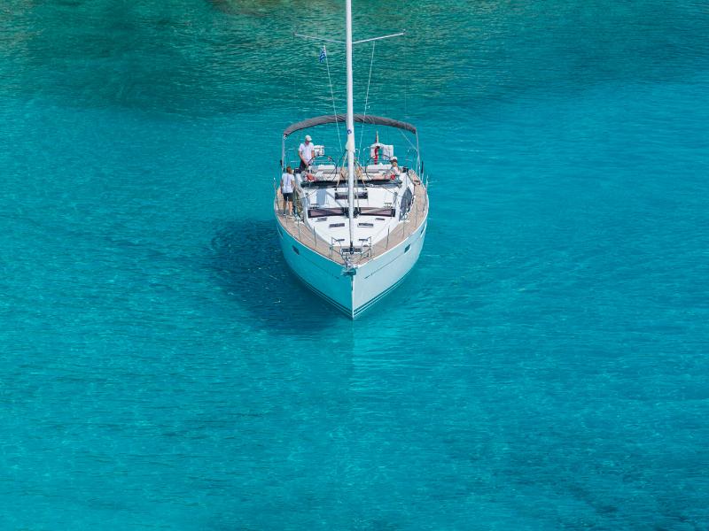 Board your luxury yacht