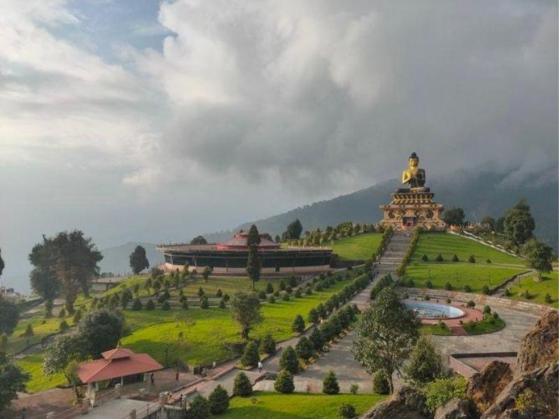 Budha Statue, Sikkim, India