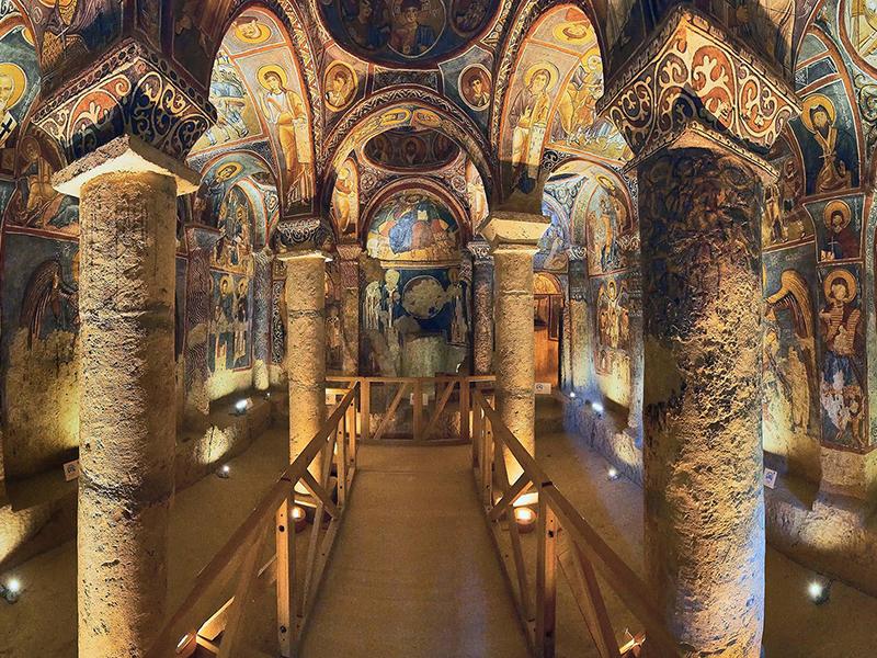 CAPPADOCIA – DARK CHURCH
