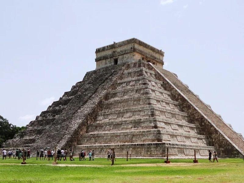 Cancun pyramid, Mexico