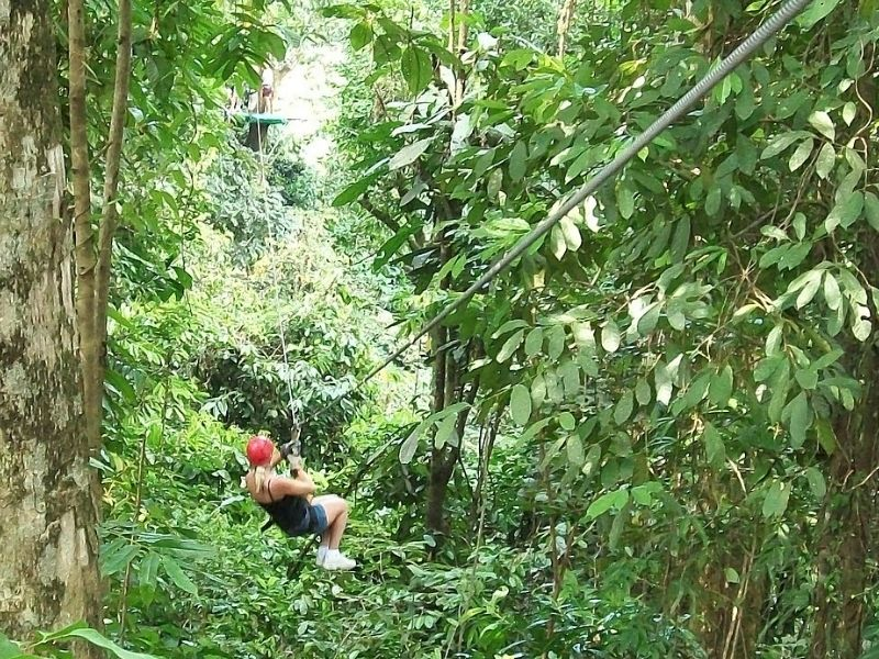 Canopy tour, Costa Rica