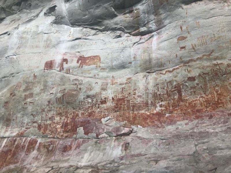 Cave murals, Nuevo Tolima