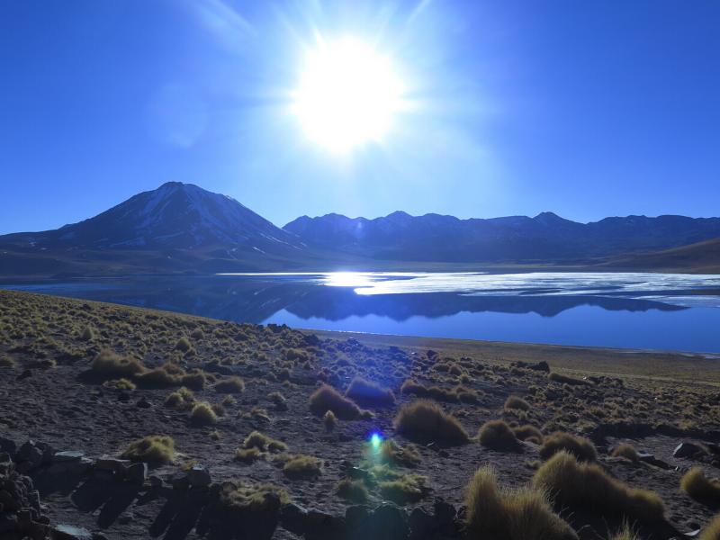 Cejar Lagoon Chile Holiday