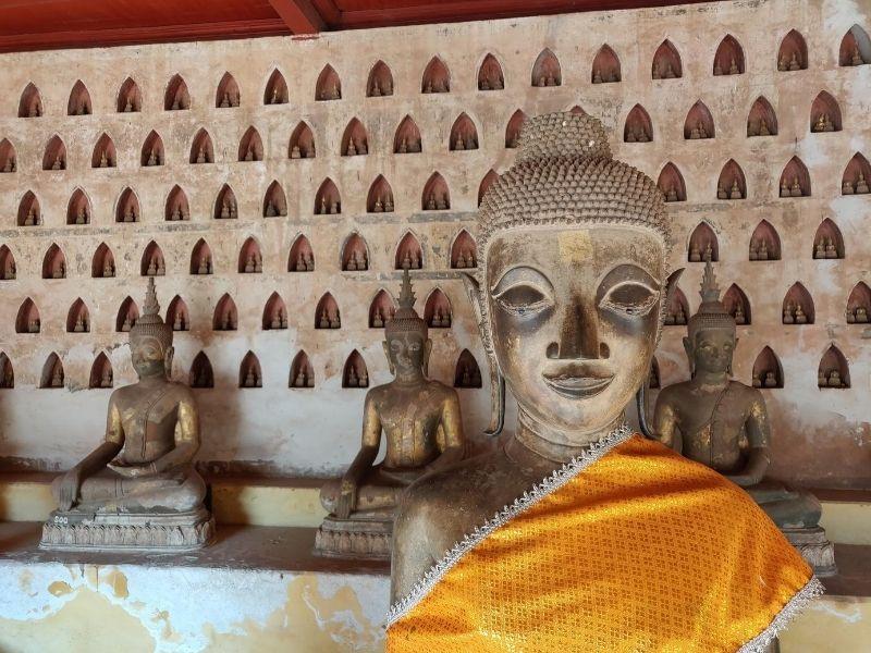 Buddha statues, Laos