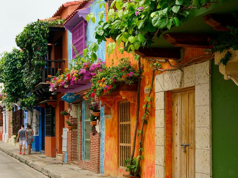 Colourful Cartagena Colombia