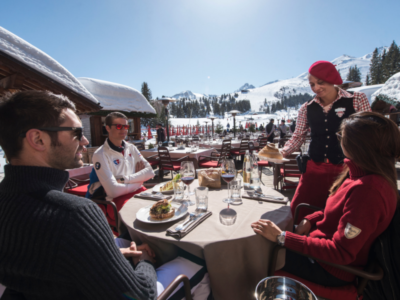 Courchevel dining
