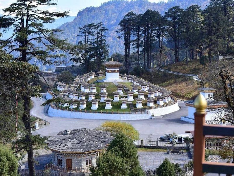 Dochu-La Pass, Punakha, Bhutan