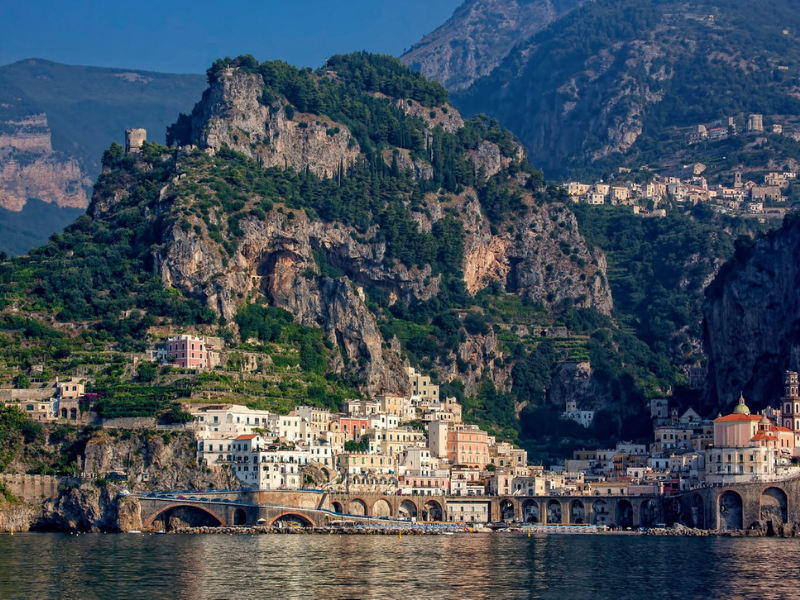 Drive the Amalfi Coast to Amalfi Italy