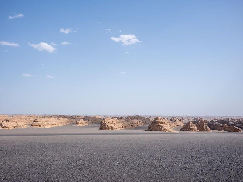 Dunhuang desert, China