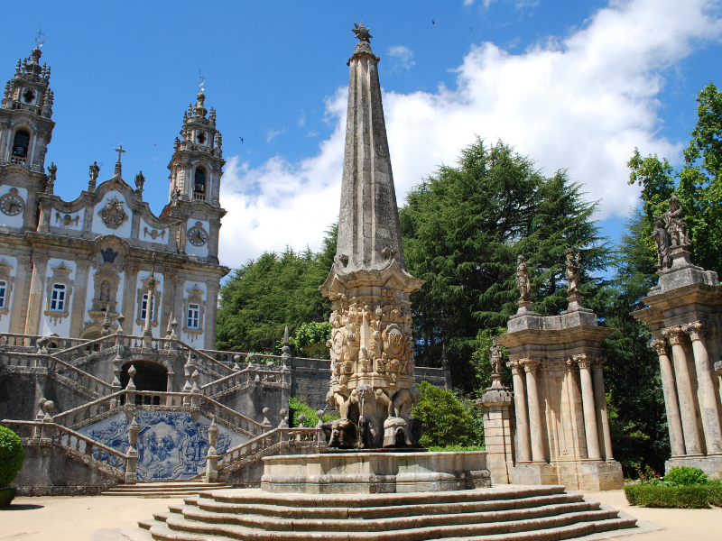 Explore historical sites of the Douro Valley in Lamego Portugal