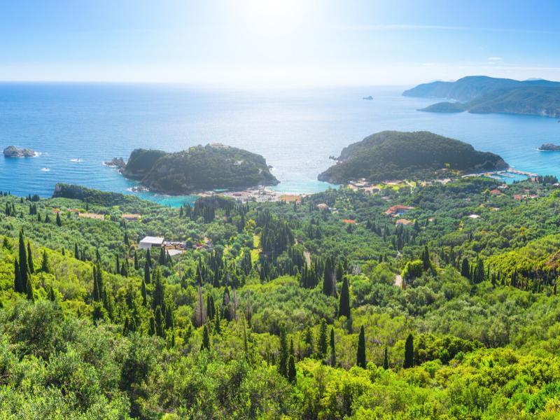 Explore the Countryside of Corfu Greece
