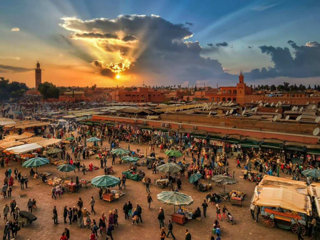 souks of the Medina