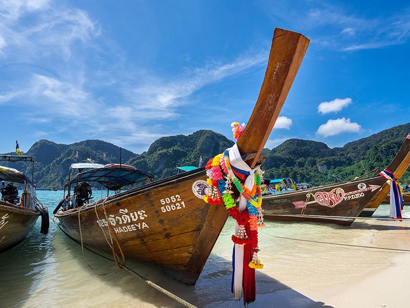 Long boat Thailand