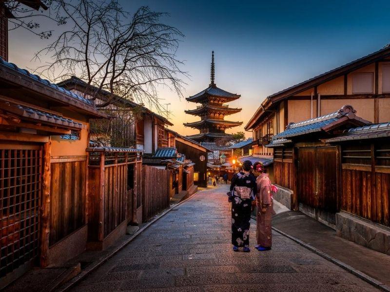 Geisha district - Kyoto, Japan
