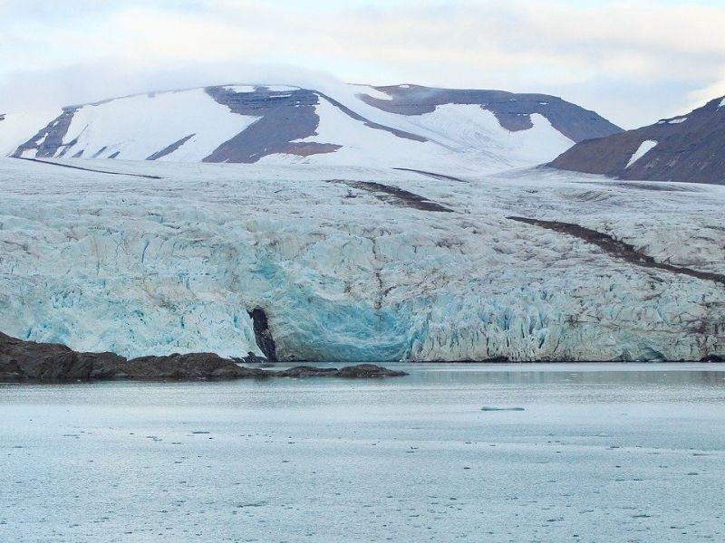 Glacier, Spitsbergen