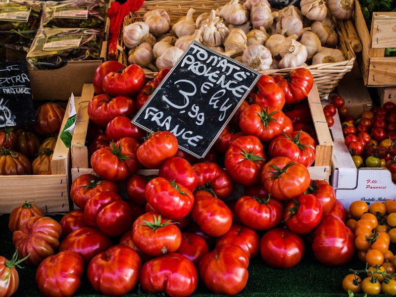 Go to Valbone French Village Market Cap d'Antibes French Riviera France
