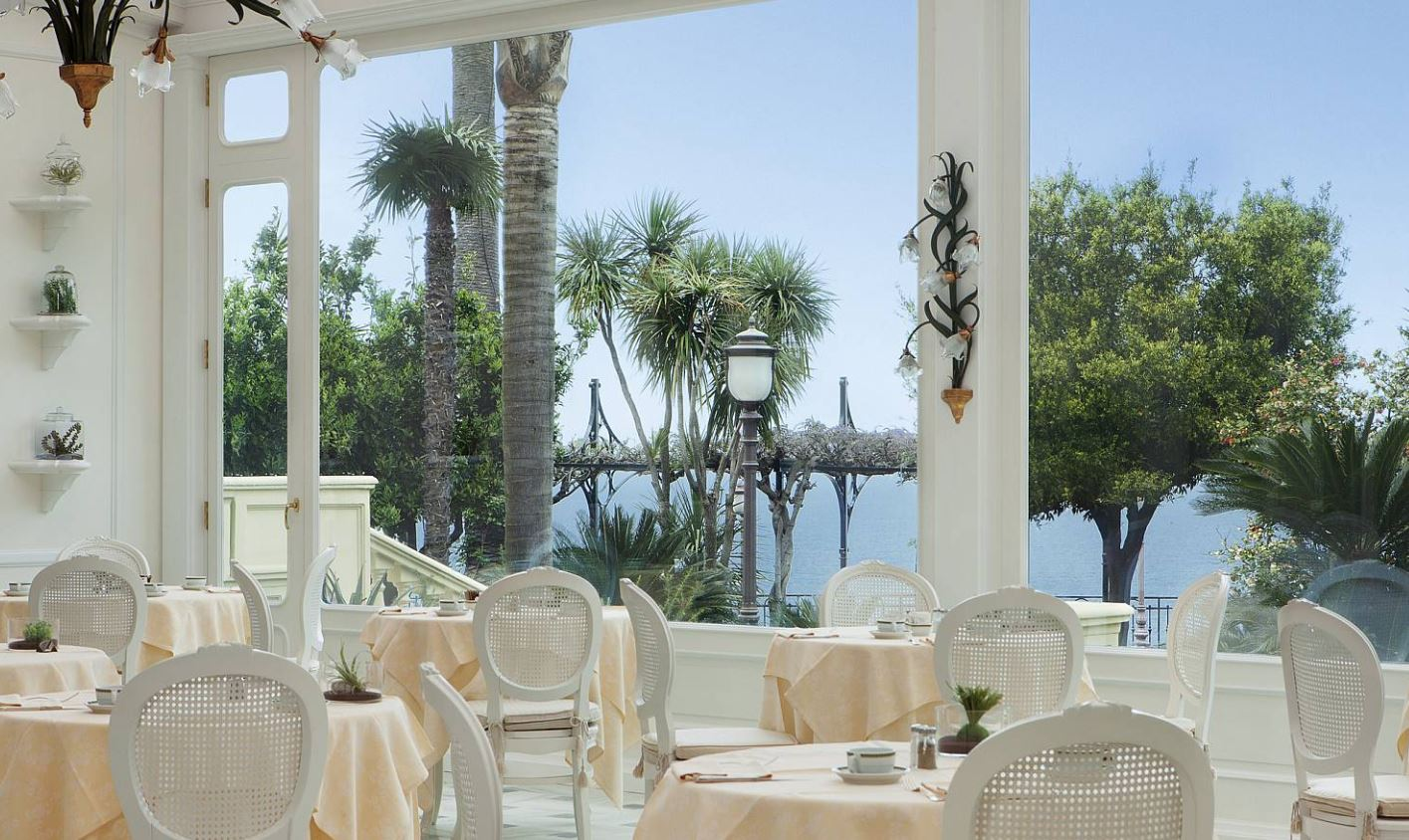 Grand Hotel Royal Dining Sorrento Italy