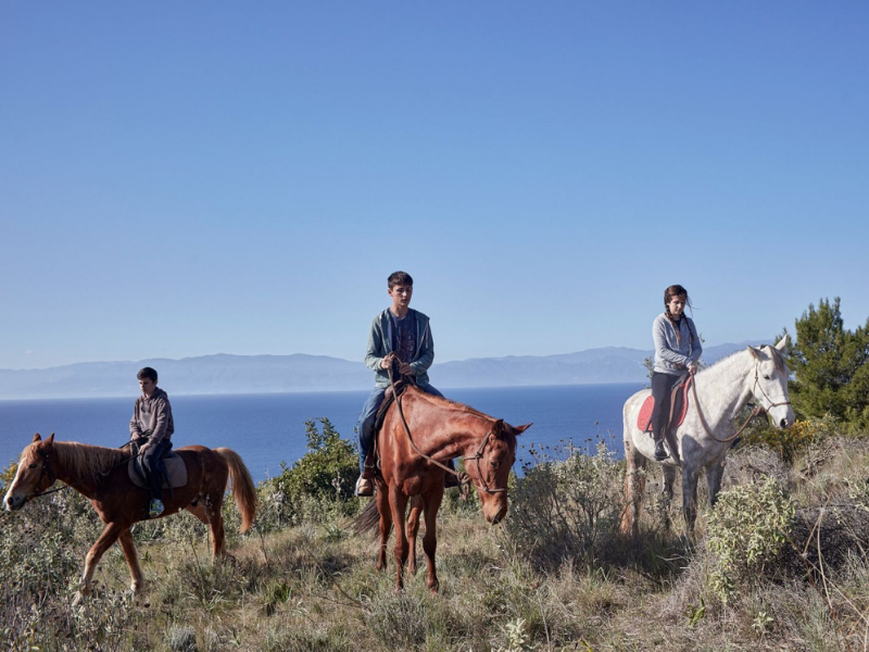 Horse Riding Spetses Greece