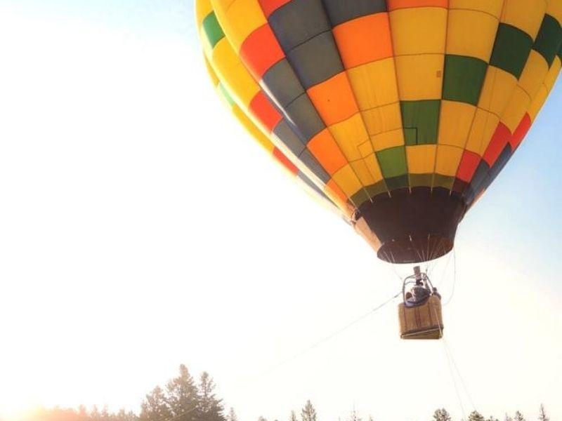 Hot air baloon ride, Colima