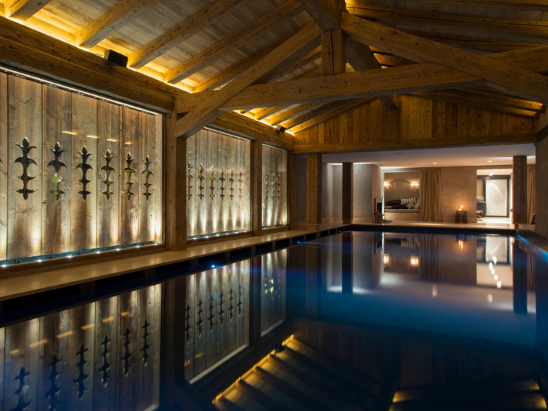 Indoor Pool and Spa Verbier