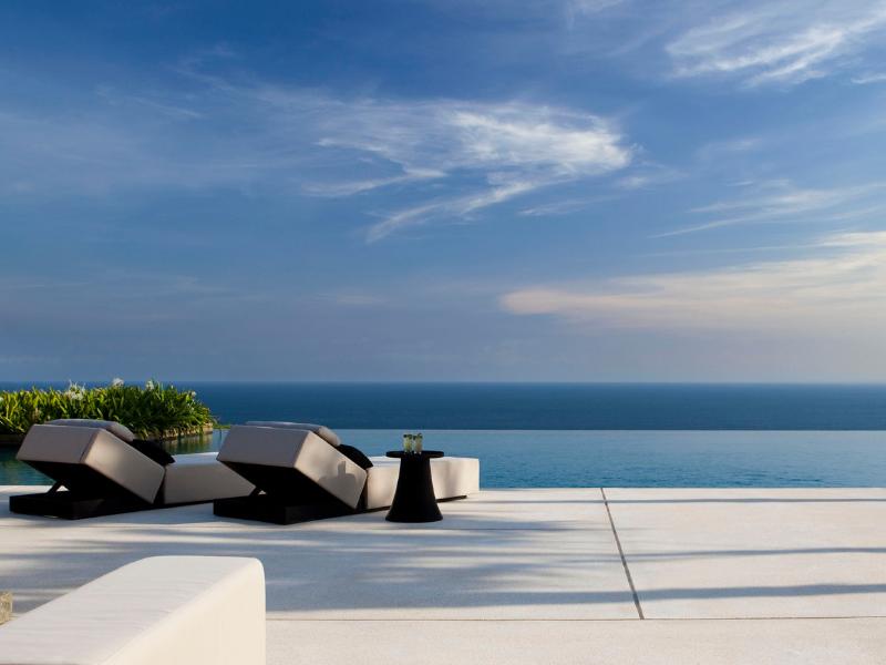 Infinity Pool at Alila Villas Bali Indonesia