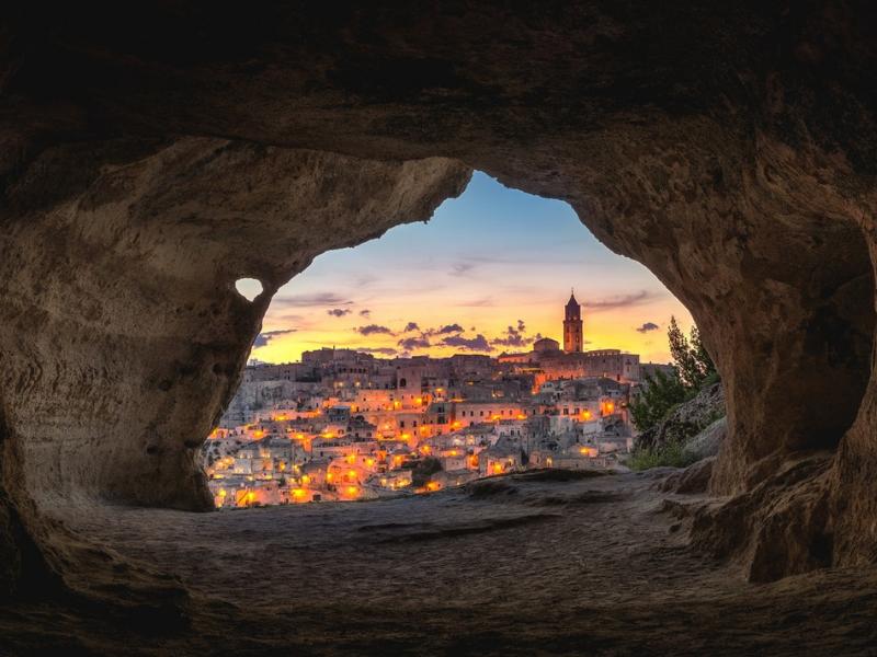 Italy - Historic city of Matera
