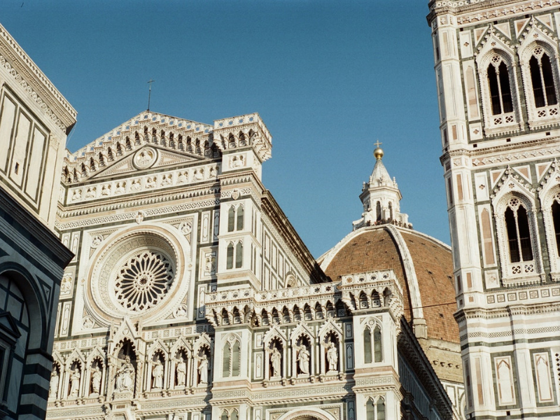 Italy - Touring Central Florence & Uffizi Gallery