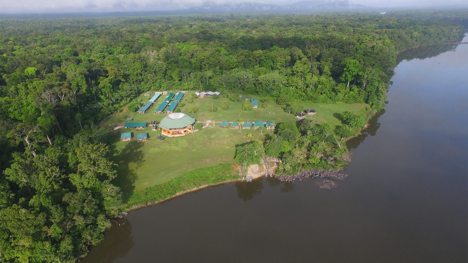 Iwokrama Rainforest Lodge