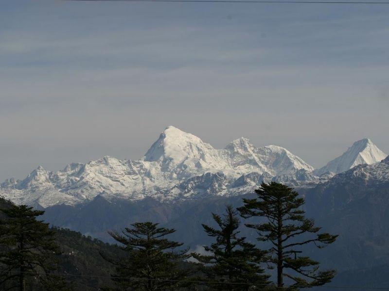 Jomolhari Mountains
