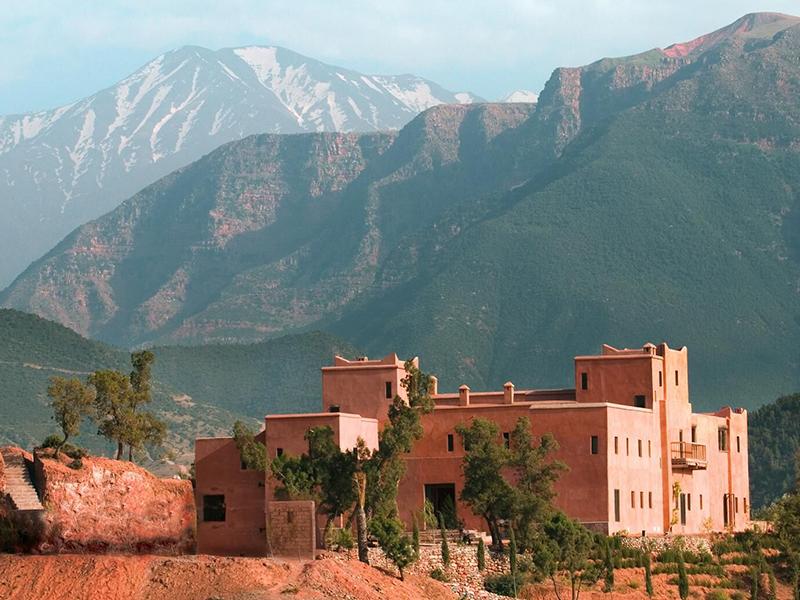 Kasbah Bab Ourika Morocco