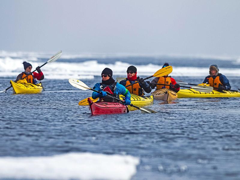 Kayaking, Spitsbergen