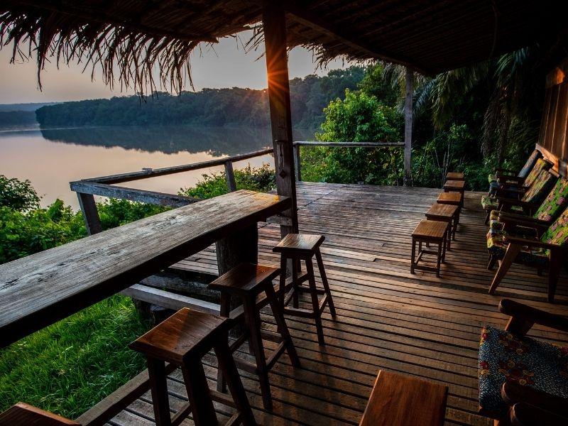 Kenya, Sangha river lodge