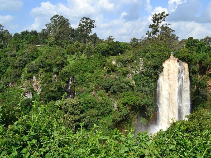Kenya Waterfall