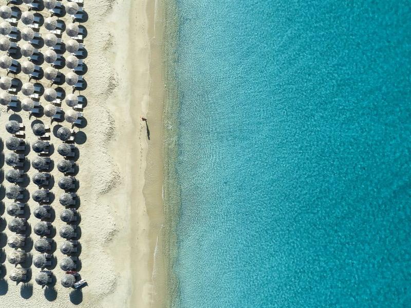 Lagos Mare Hotel Beach Naxos Greece